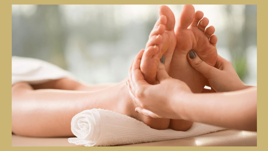 Fußreflexzonenmassage / Fußreflexzonentherapie