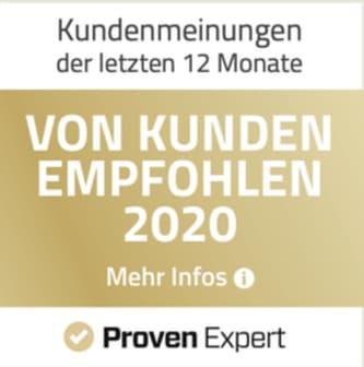 Provenexpert ProVita Siegel 2020 Physiotherapie Manuelle Therapie Baden-baden